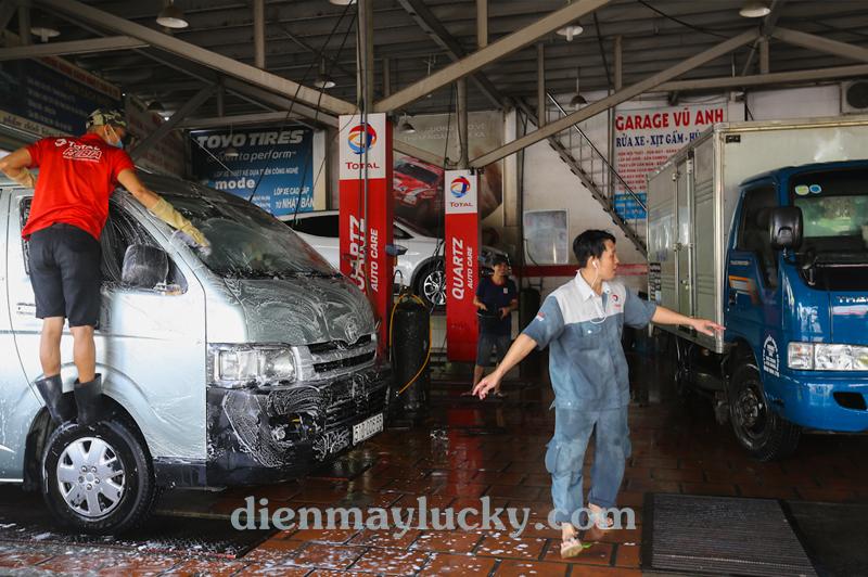 tư vấn mở tiệm rửa xe ô tô