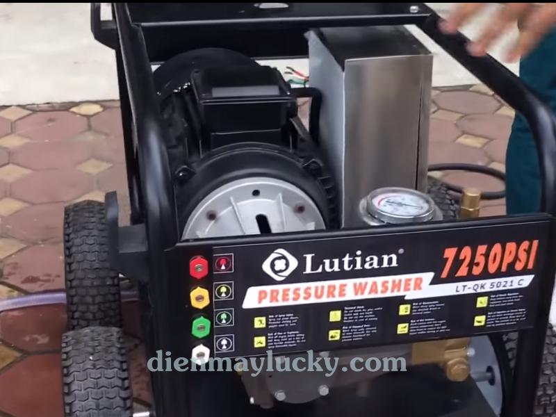 Máy rửa xe siêu cao áp 22KW 3