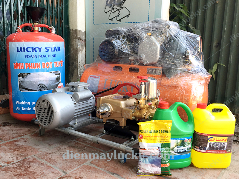đồ nghề rửa xe máy
