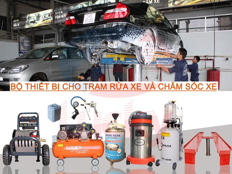 vốn và kế hoạch mở tiệm rửa xe ô tô