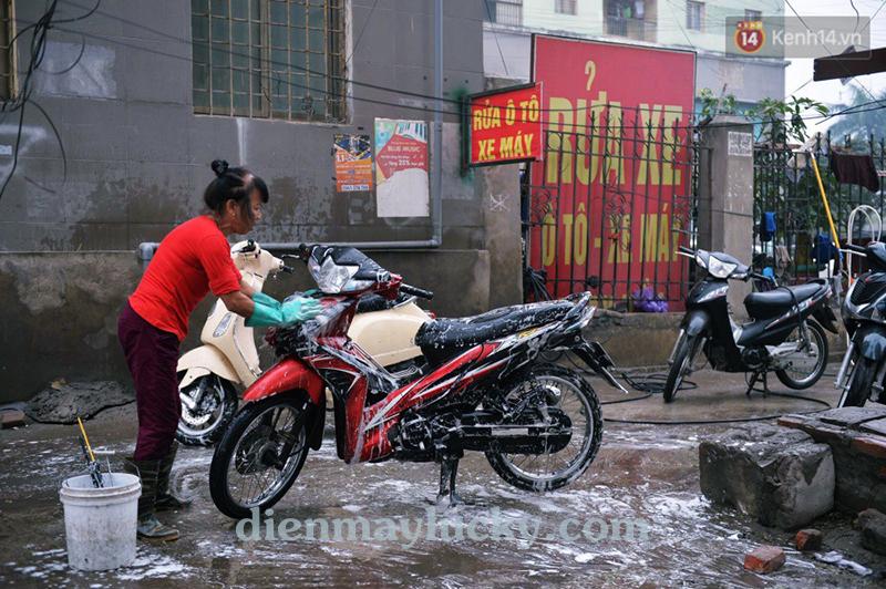 mở tiệm rửa xe máy cần những gì