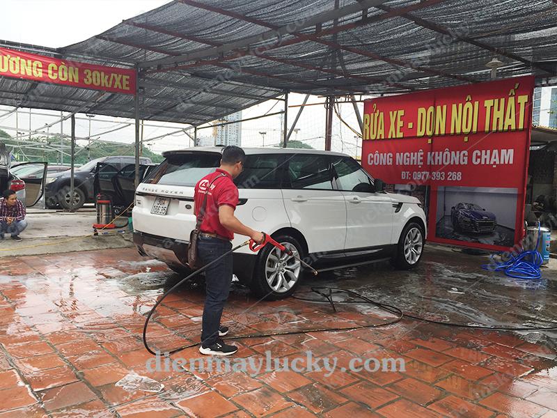 thuê mặt bằng mở tiệm rửa xe