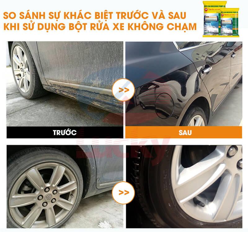 bột rửa xe không chạm OPS