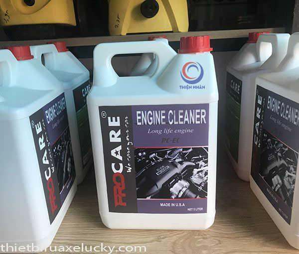 dung dịch rửa khoang máy ô tô